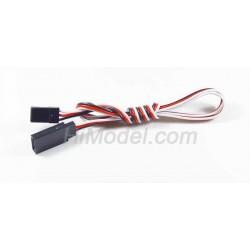 Cablu prelungitor servo 10cm, gros