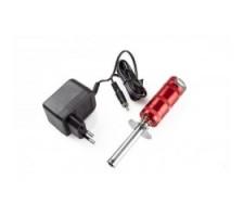 image: Incalzitor bujie RC-Sys cu baterie 2100 mAh si incarcator